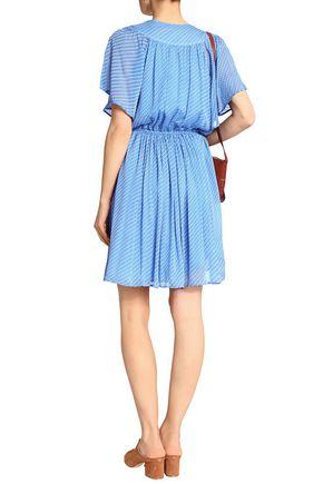 CLAUDIE PIERLOT Fil coupé sikl-crepe dress
