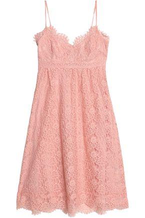CLAUDIE PIERLOT Corded lace cotton-blend dress