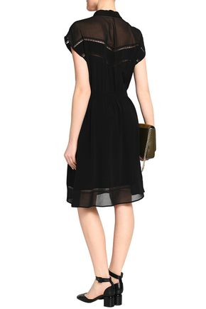 CLAUDIE PIERLOT Gathered crepe dress