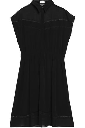 CLAUDIE PIERLOT Gathered crepe dress