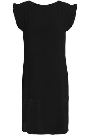 CLAUDIE PIERLOT Ruffled crepe mini dress