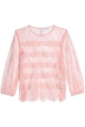 CLAUDIE PIERLOT Embroidered tulle top