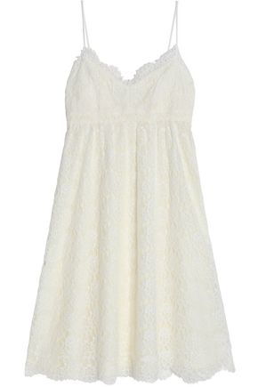 CLAUDIE PIERLOT Corded lace cotton-blend dress