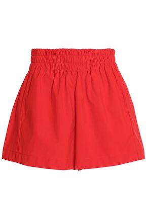 MAJE Gathered cady shorts
