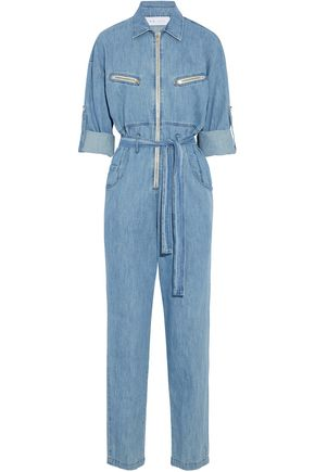 IRO Polly cotton-chambray jumpsuit