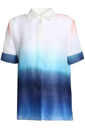 MAJE Dégradé crepe de chine shirt
