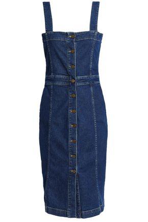 MAJE Stretch-denim dress