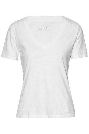 J BRAND Slub cotton-jersey T-shirt