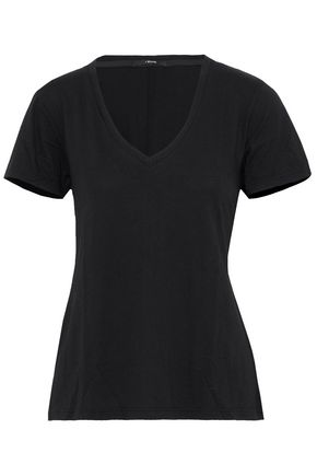 J BRAND Cotton and modal-blend jersey T-shirt
