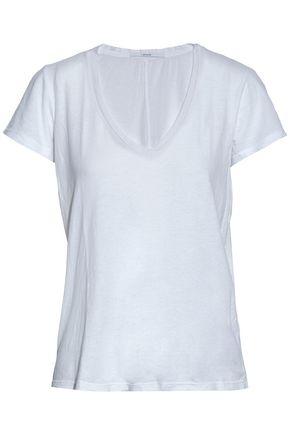 J BRAND Cotton and modal-blend jersey T-shirt