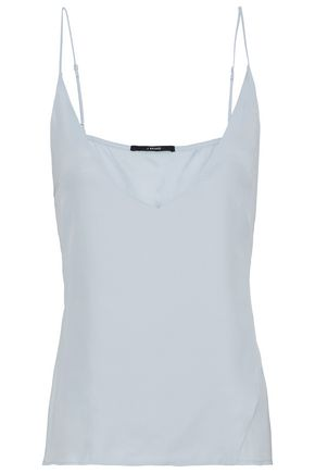 J BRAND Washed-silk camisole