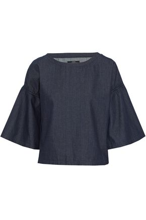 J BRAND Cotton-chambray top