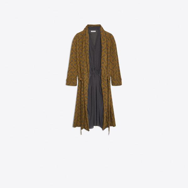 ダブル カフタン ドレス