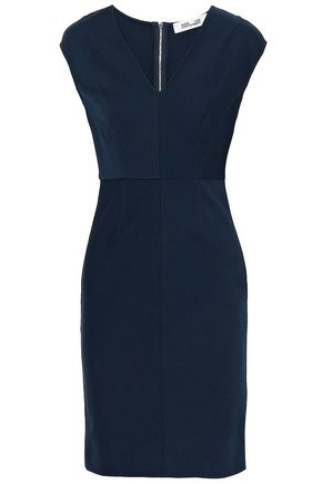 DIANE VON FURSTENBERG Stretch-twill dress