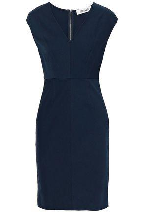 DIANE VON FURSTENBERG Stretch-twill dress
