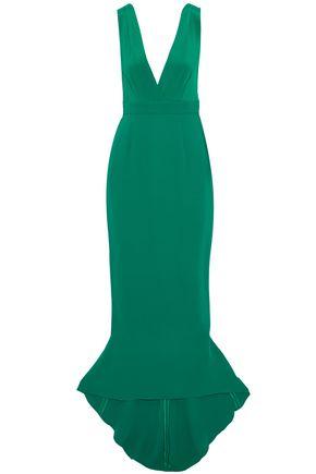 DIANE VON FURSTENBERG Silk-crepe gown
