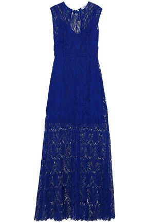 DIANE VON FURSTENBERG Guipure lace gown