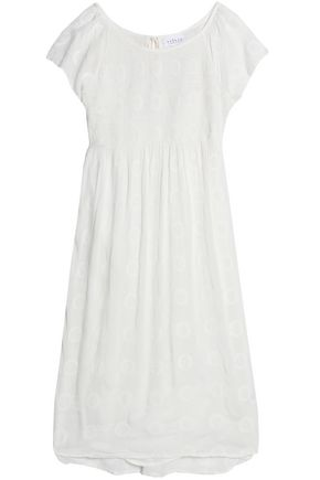 VELVET by GRAHAM & SPENCER Embroidered gauze dress