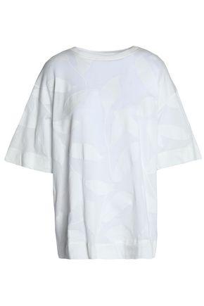 MARNI Cotton-jacquard T-shirt