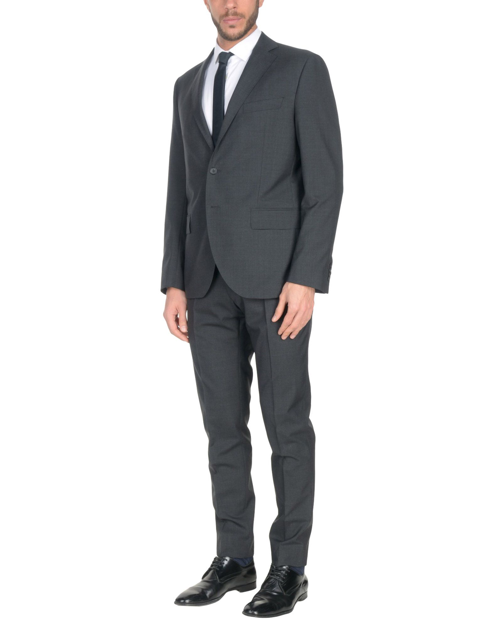 LUBIAM Suits in Steel Grey