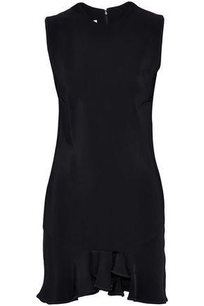 ANTONIO BERARDI Ruffled crepe mini dress