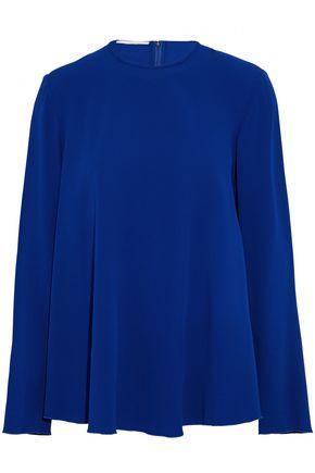 ANTONIO BERARDI Fluted crepe blouse