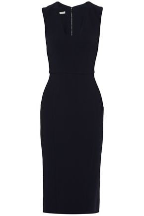 ANTONIO BERARDI Crepe midi dress