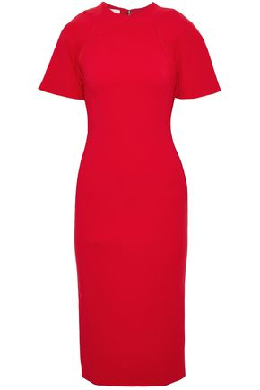ANTONIO BERARDI Layered crepe dress