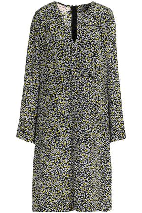 MARNI Printed silk dress