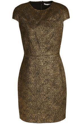 DIANE VON FURSTENBERG Metallic jacquard mini dress