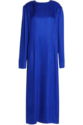 MARNI Satin midi dress