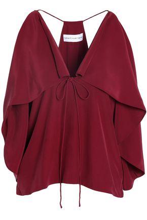 ROBERT RODRIGUEZ Silk wrap camisole