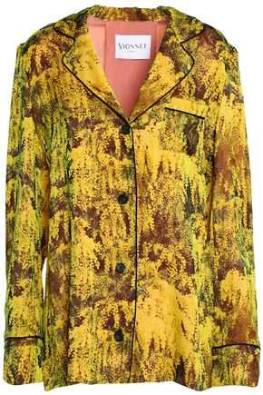 VIONNET Printed silk shirt