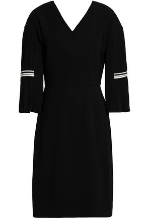 VIONNET Pleated crepe dress