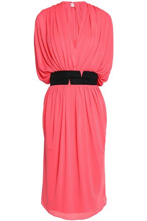 VIONNET Draped jersey dress