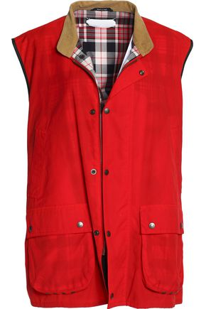 MAISON MARGIELA Reversible coated-twill vest