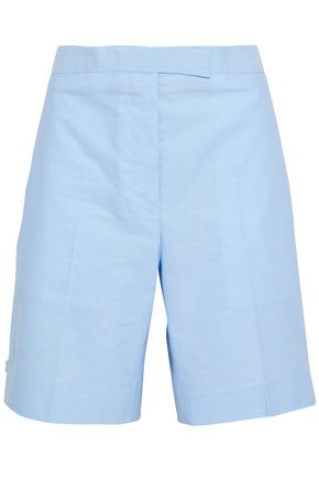 THOM BROWNE Cotton-canvas shorts