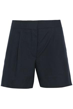 THOM BROWNE Pleated wool shorts