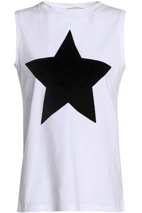ÊTRE CÉCILE Printed cotton-jersey top