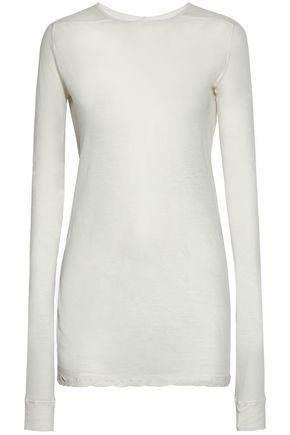 RICK OWENS Slub cotton-jersey top