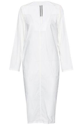 RICK OWENS Cotton-poplin dress