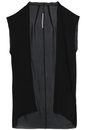 RICK OWENS Vests and Gilets
