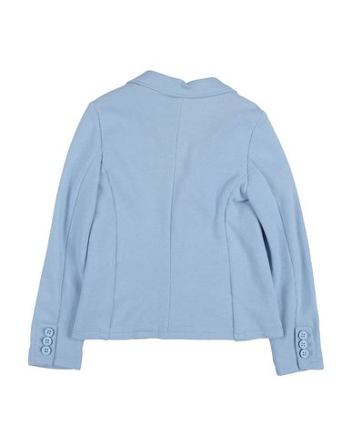 Фото 2 - Пиджак небесно-голубого цвета