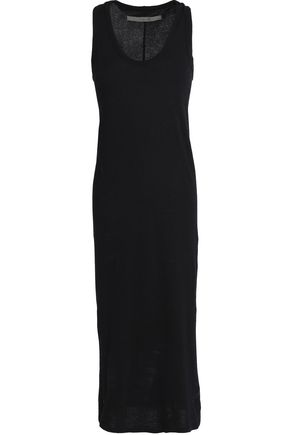 ENZA COSTA Cotton-jersey midi dress