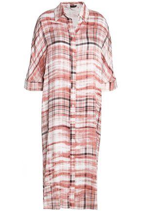 JOSEPH Printed cady dress