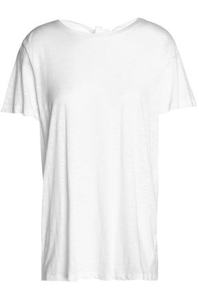 PROENZA SCHOULER Open-back cotton-jersey T-shirt