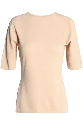 DION LEE Stretch-knit top