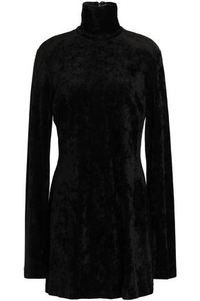 ELLERY Chenille turtleneck mini dress