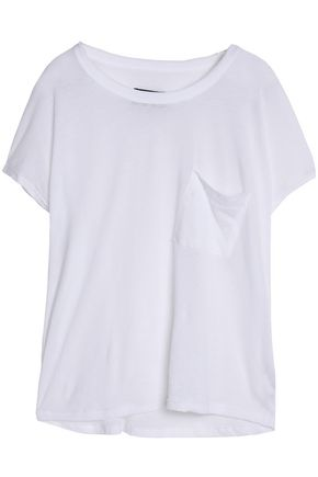 RTA Slub cotton and cashmere-blend jersey T-shirt