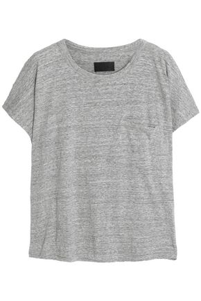 RTA Mélange cotton-blend jersey T-shirt